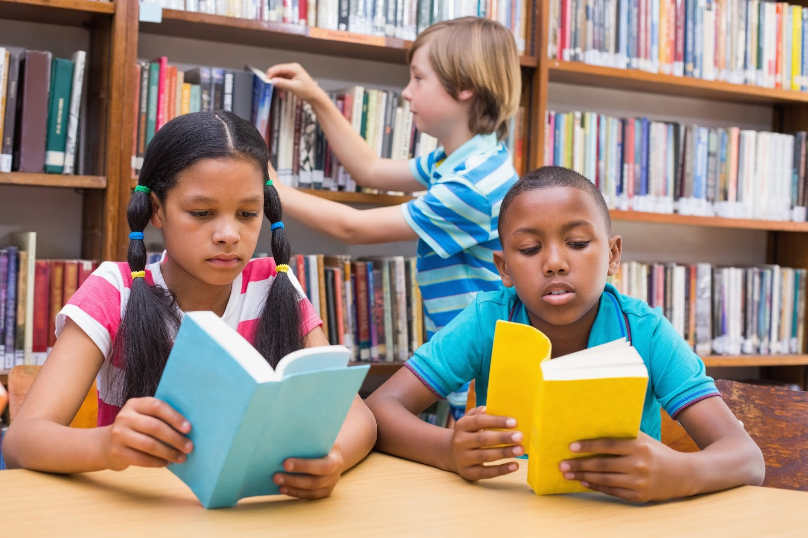reading books over the summer When we were kids, our mom had a summer reading challenge for us each year: read 100 books they could be whatever kind of book we wanted – picture books, comic books, chapter books – you name it.