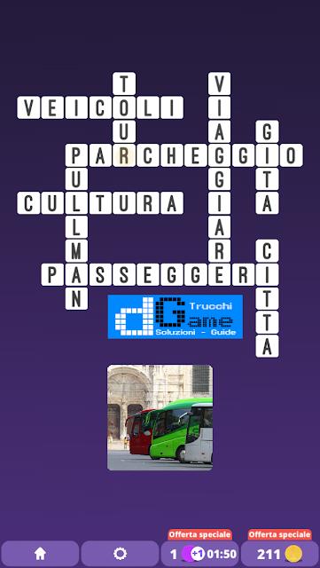 Soluzioni One Clue Crossword livello 25 schemi 15 (Cruciverba illustrato)  | Parole e foto