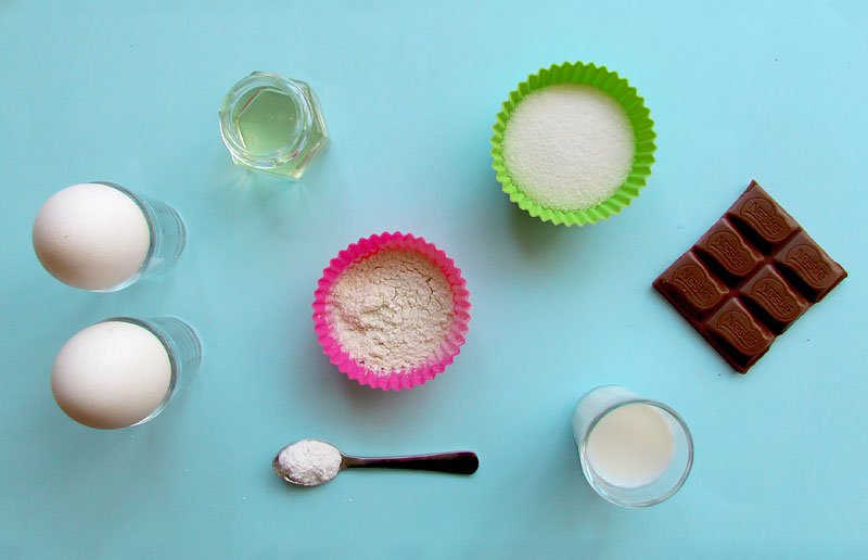 Separe os ingredientes / faça uma foto pro Snapgram :p