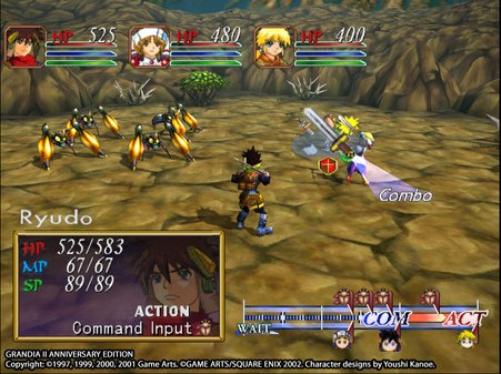 Free Download Grandia II Anniversary Edition Full Game