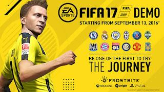 أداة زيادة وقت المبارة فى ديمو FIFA 17