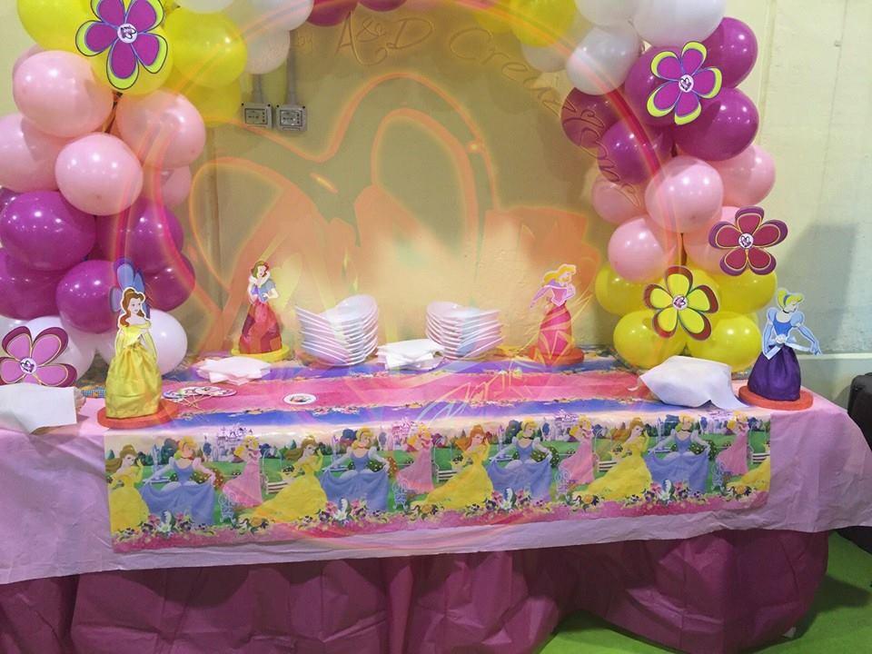 decorazioni compleanno principesse disney