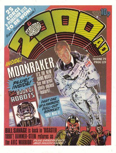 2000 AD, Prog 119, Roger Moore