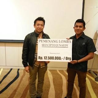 Pemenang Kontes Blog Cipto Junaedy