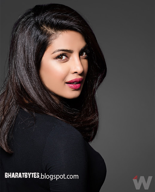 Priyanka Chopra's Stunning Photoshoot for The Wrap Magazine