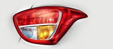 Fitur Hyundai Grand i10 - Rear Combination Lamps