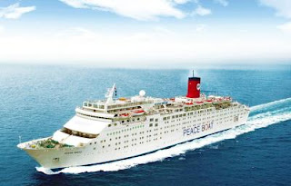 Peaceboat's Ocean Dream Scheduled To Call in New York on July 12 & 13 2018