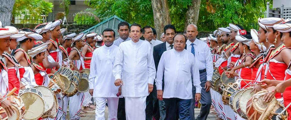 "President Maithripala Sirisena Handed Over ""Kastane"" To National Museum 3"