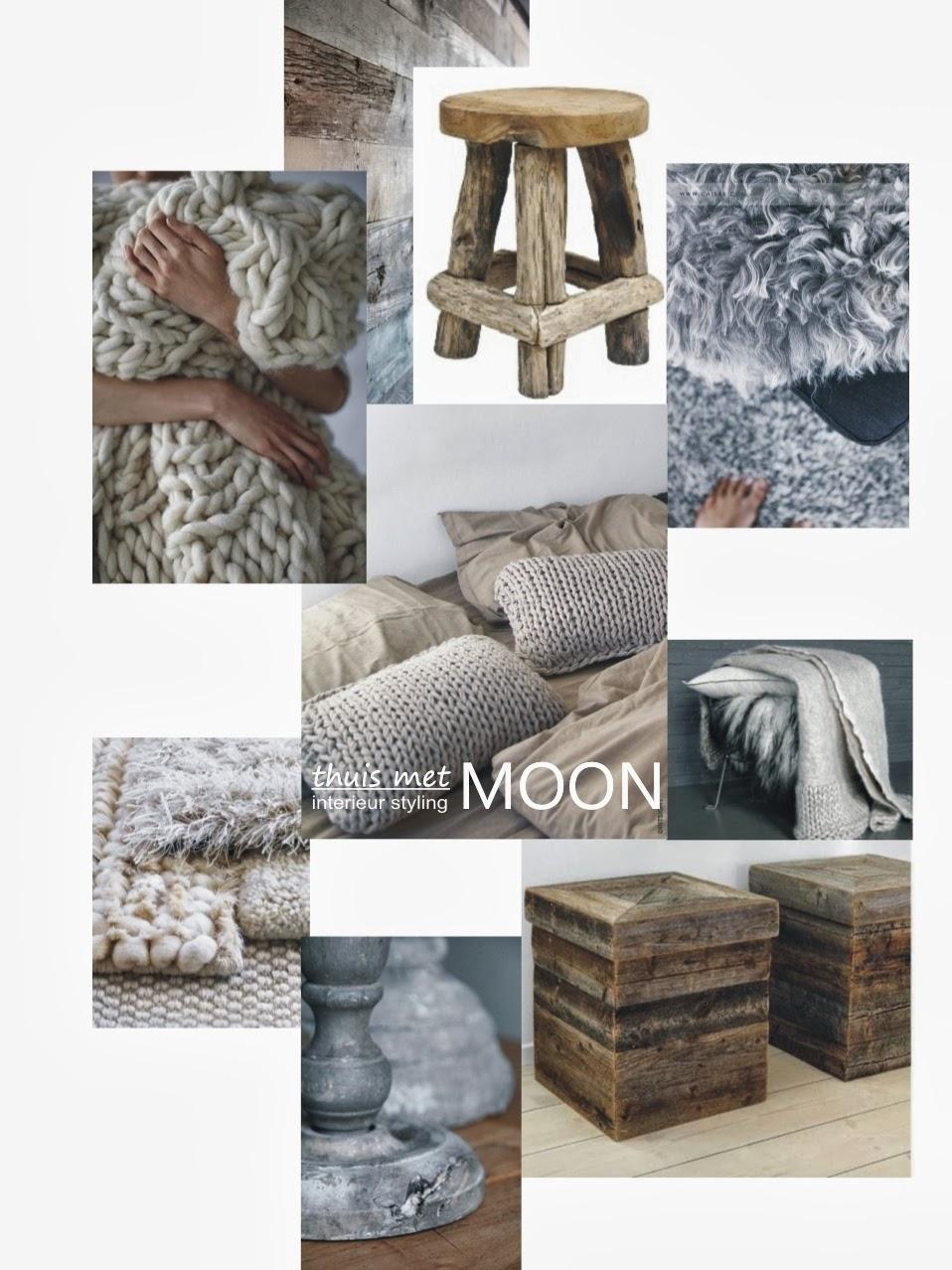 thuis met Moon Stoere slaapkamer