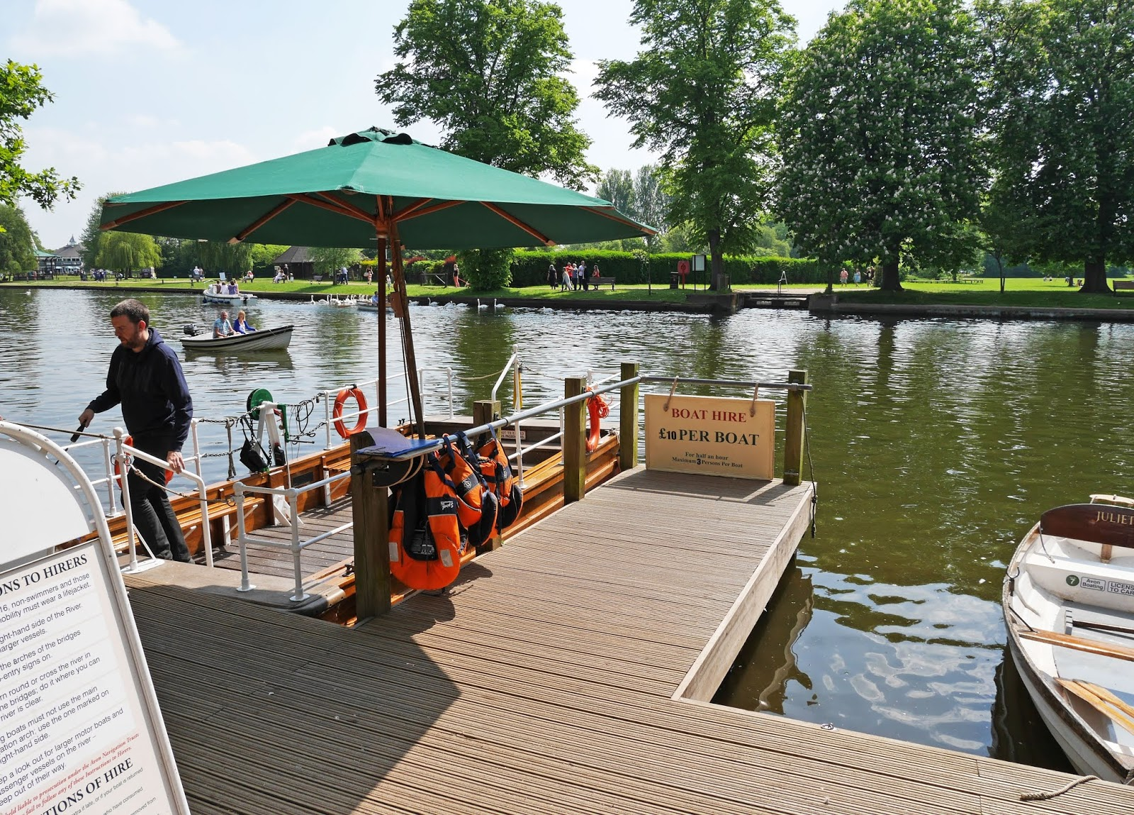 Jetty on the River Avon