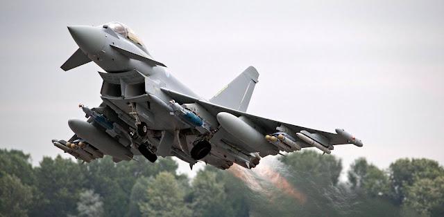 Το Κατάρ αγοράζει 24 μαχητικά Eurofighter Typhoon από τη Βρετανία