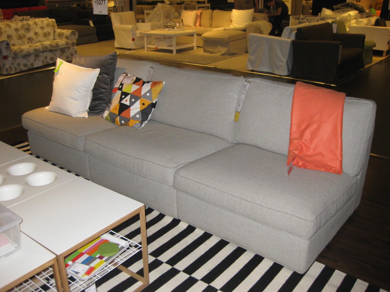 Ikea Kivik Sofa Review Ikea Karlstad Sofa And Chaise
