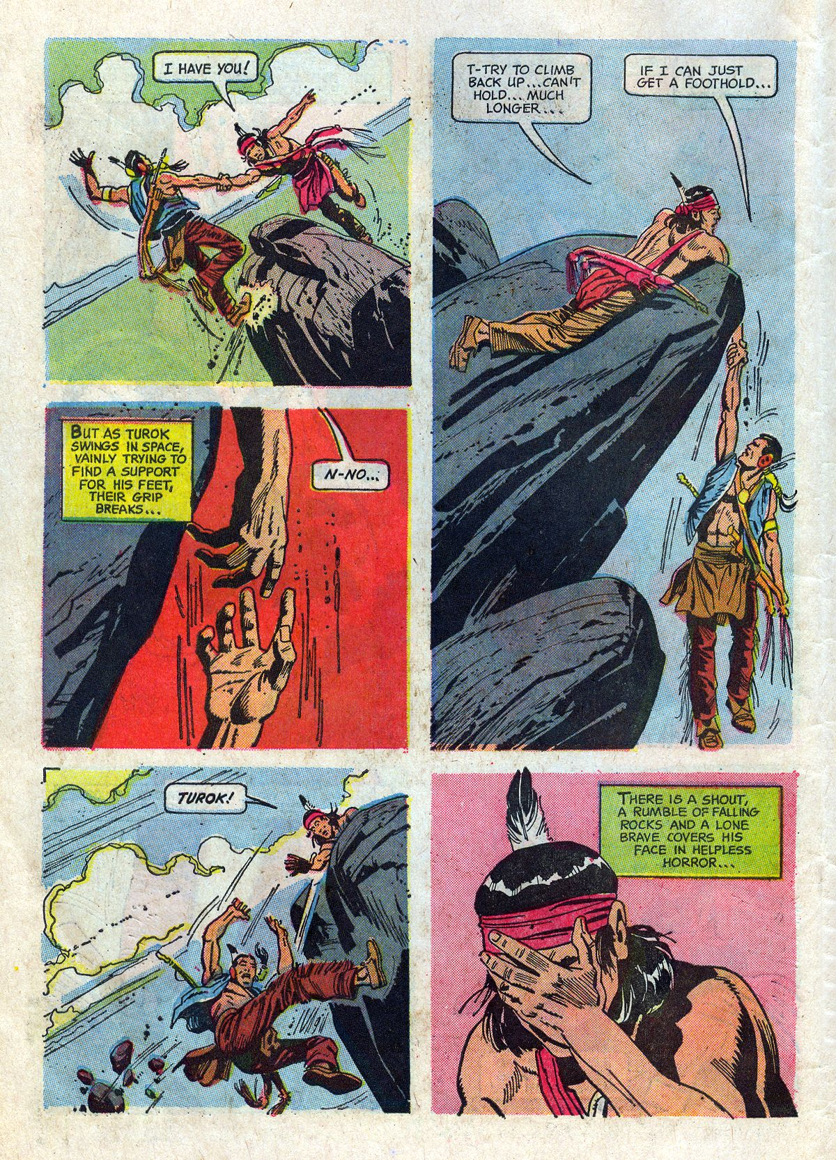 Read online Turok, Son of Stone comic -  Issue #61 - 6