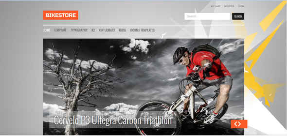 Bikestore J25 - Premium Joomla Template