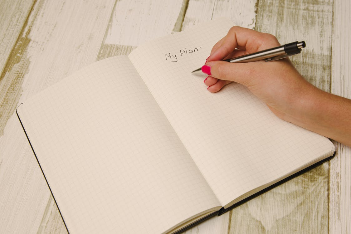 create a to do list to make it seem like you've achieved something