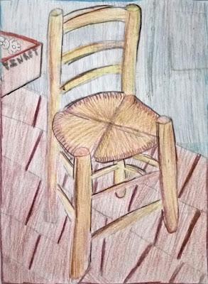 Van Gogh's Chair - Lydia