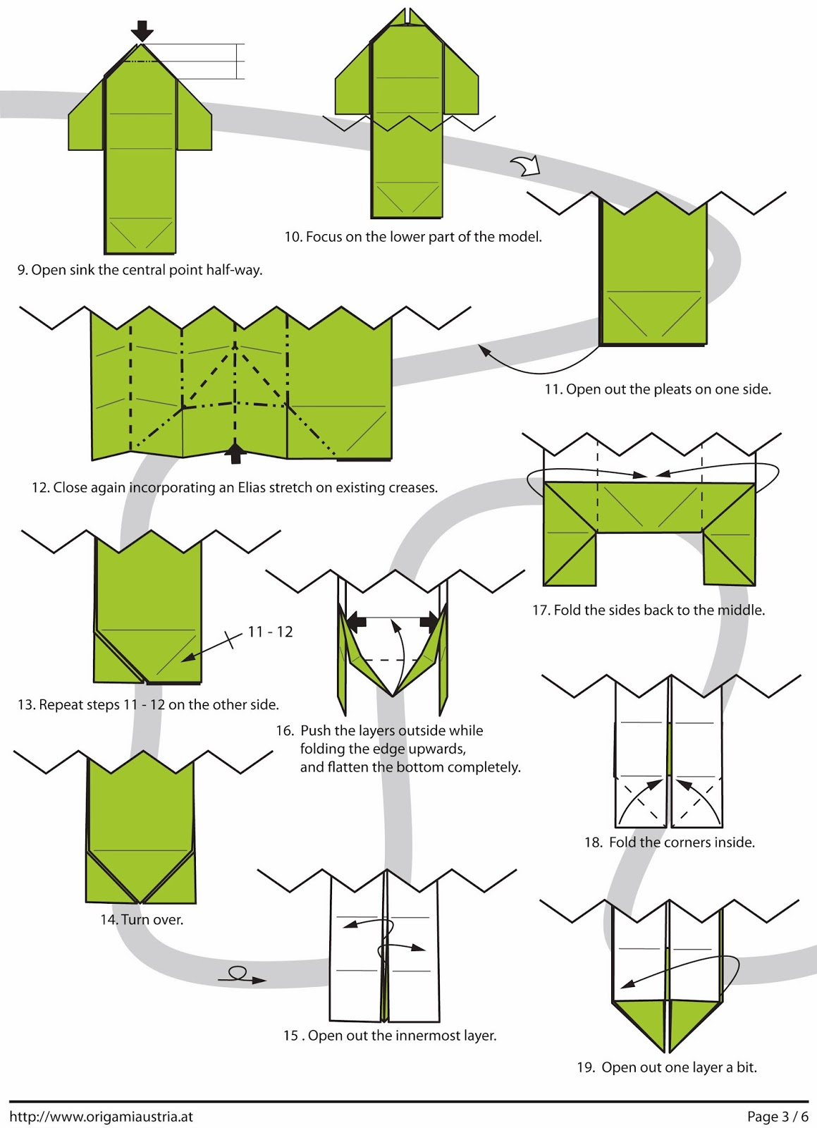 Llama Origami Diagram Giraffe Instructions How To Make An Google Sites 1159x1600
