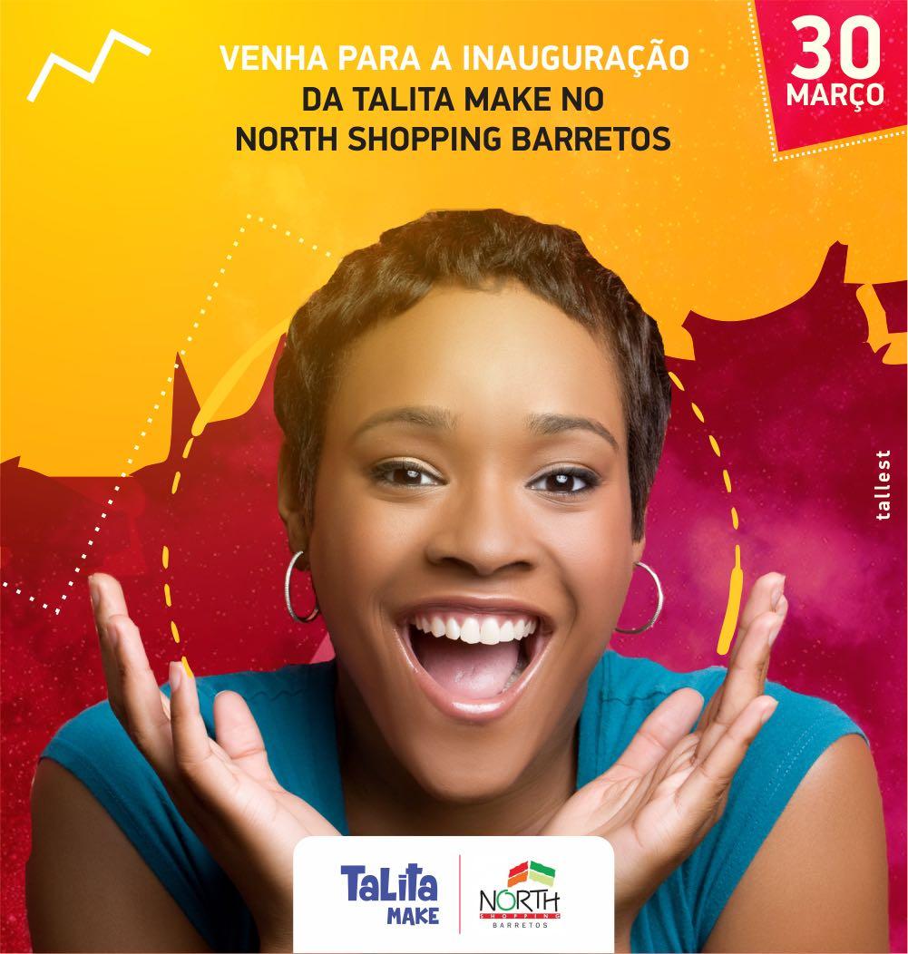Talita Make inaugura quiosque no North Shopping Barretos nesta sexta, 30