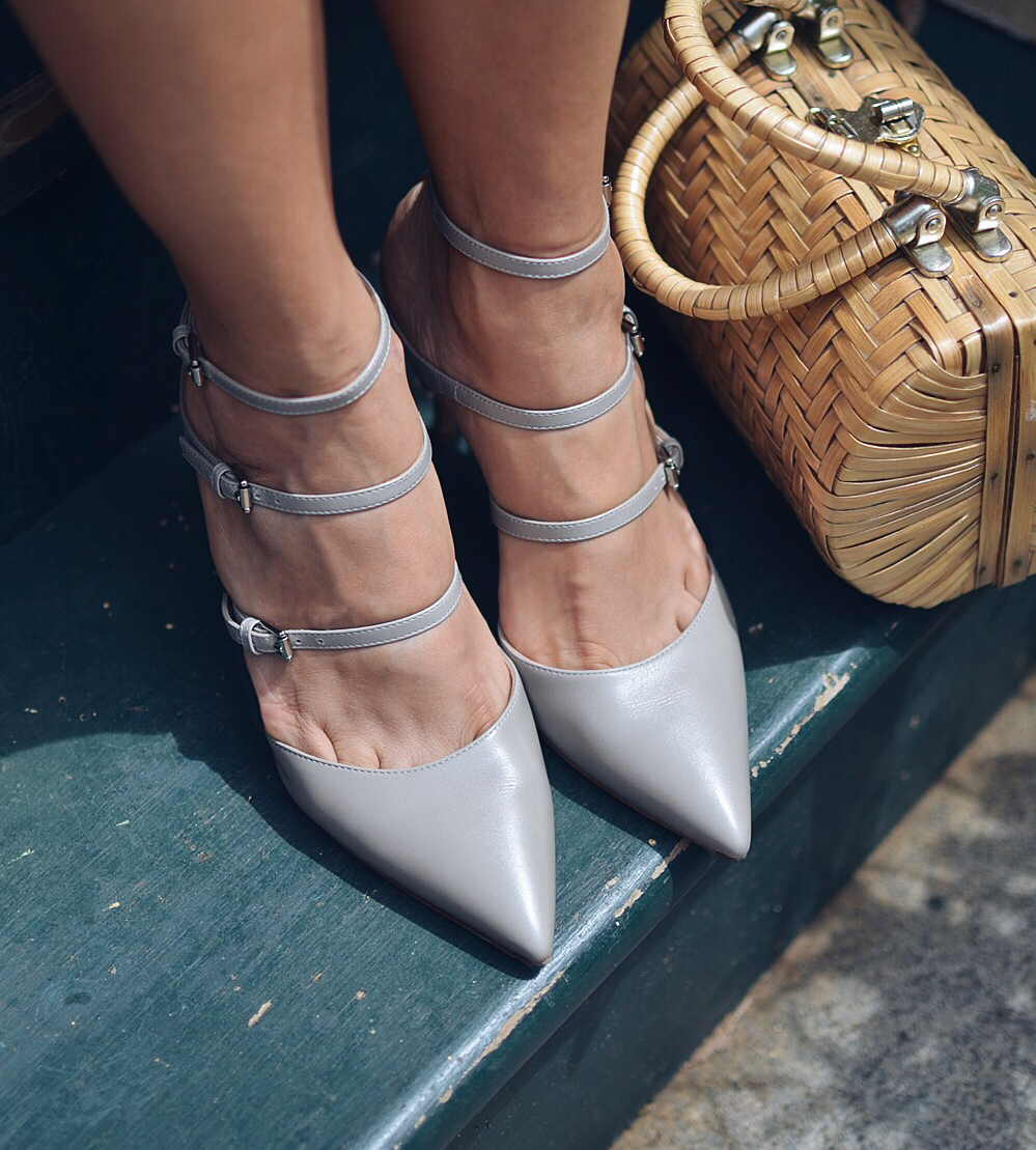 Multi strap shoes street style