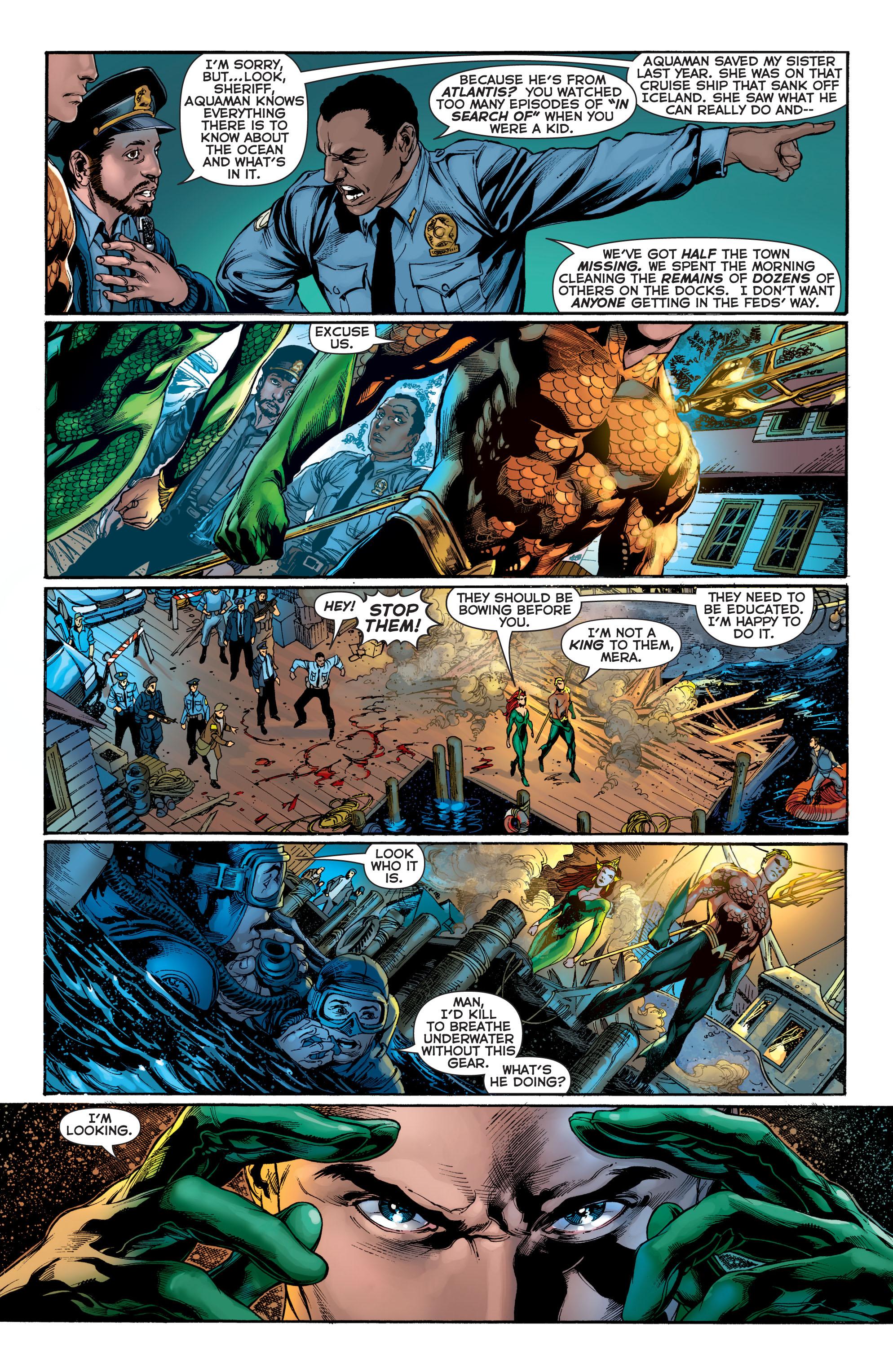 Read online Aquaman (2011) comic -  Issue #2 - 13