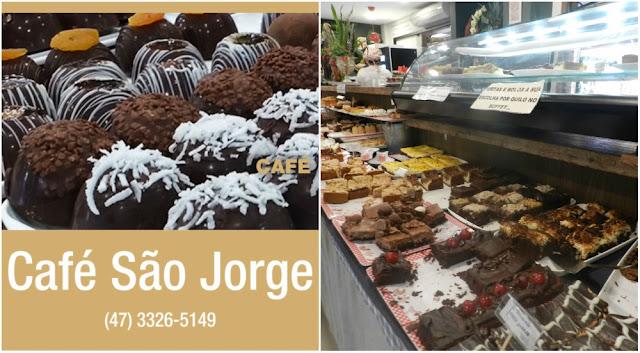 Onde (e o que) comer em Blumenau - doces da Casa São Jorge, na Vila Germânica
