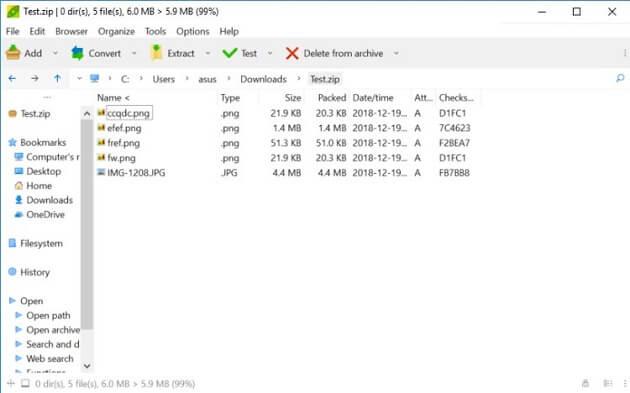 أفضل 5 برامج مجانية بديلة لبرنامج WinRAR