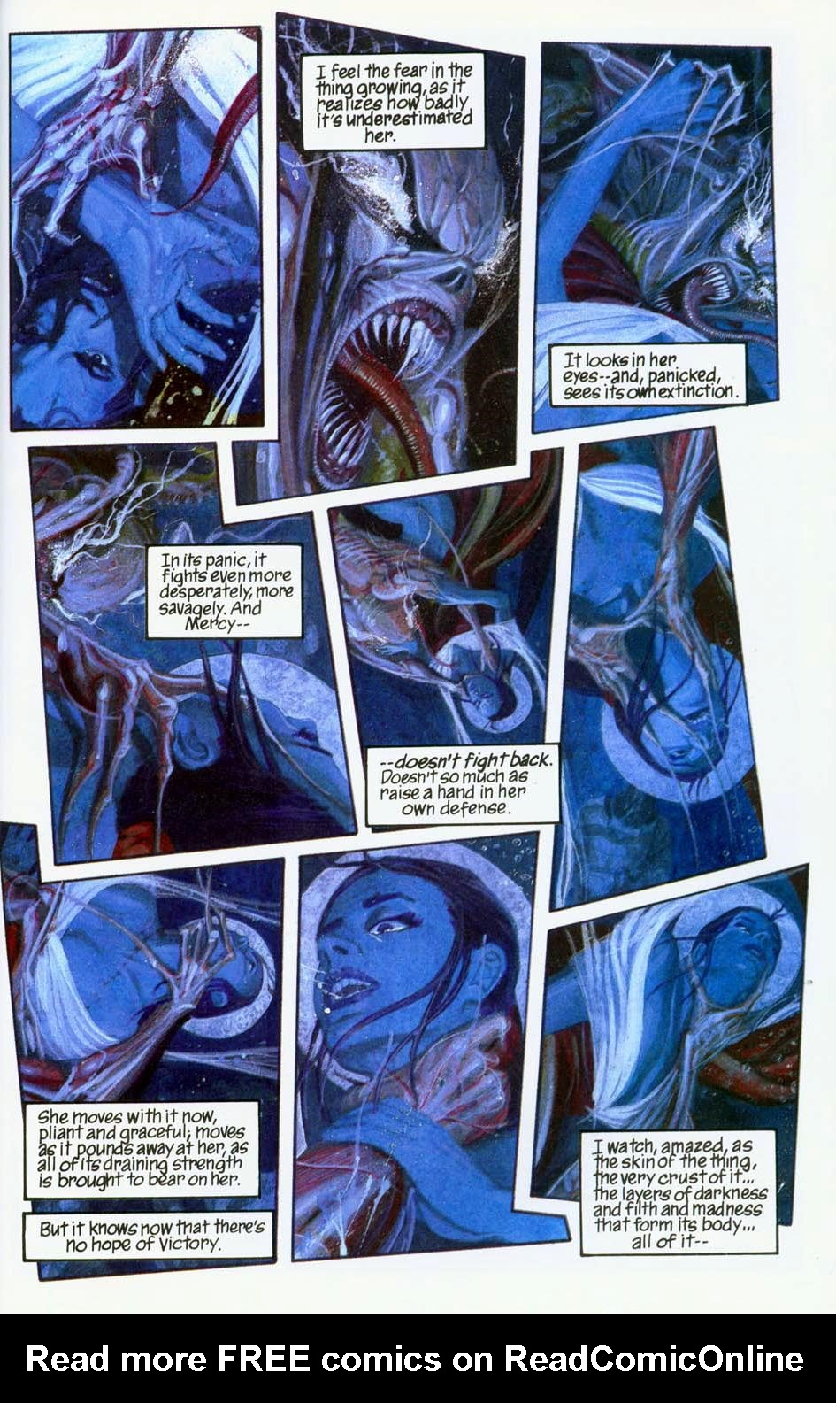 Read online Mercy comic -  Issue # Full - 45