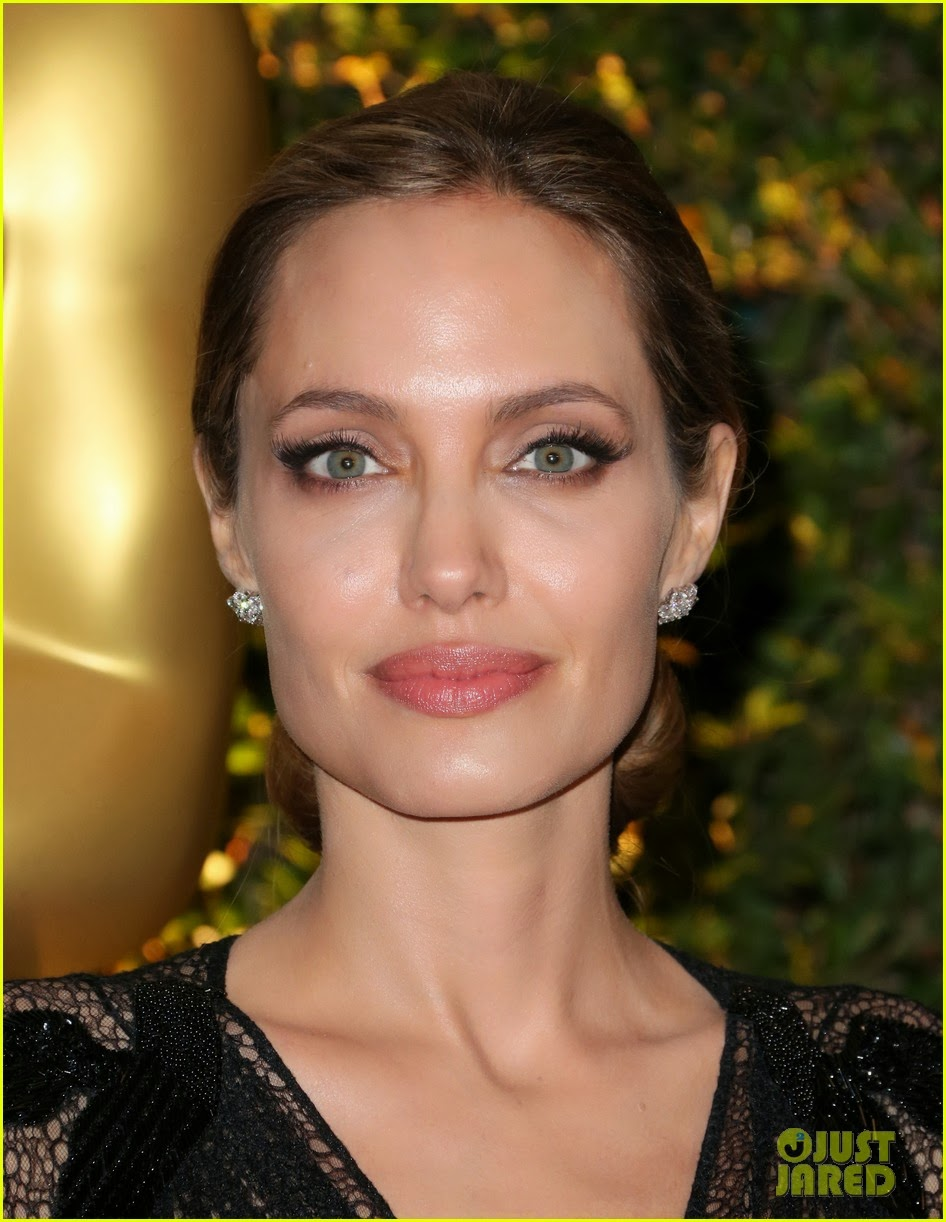 Angelina Jolie Look Using All Drugstore Makeup: The Cat With Lilac Glasses: Gossiping: Angelina Jolie