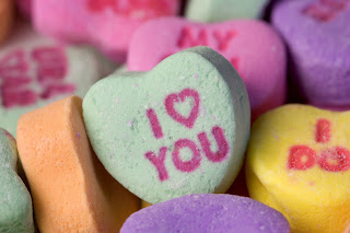 "Candy Hearts photo, ""I heart you"""