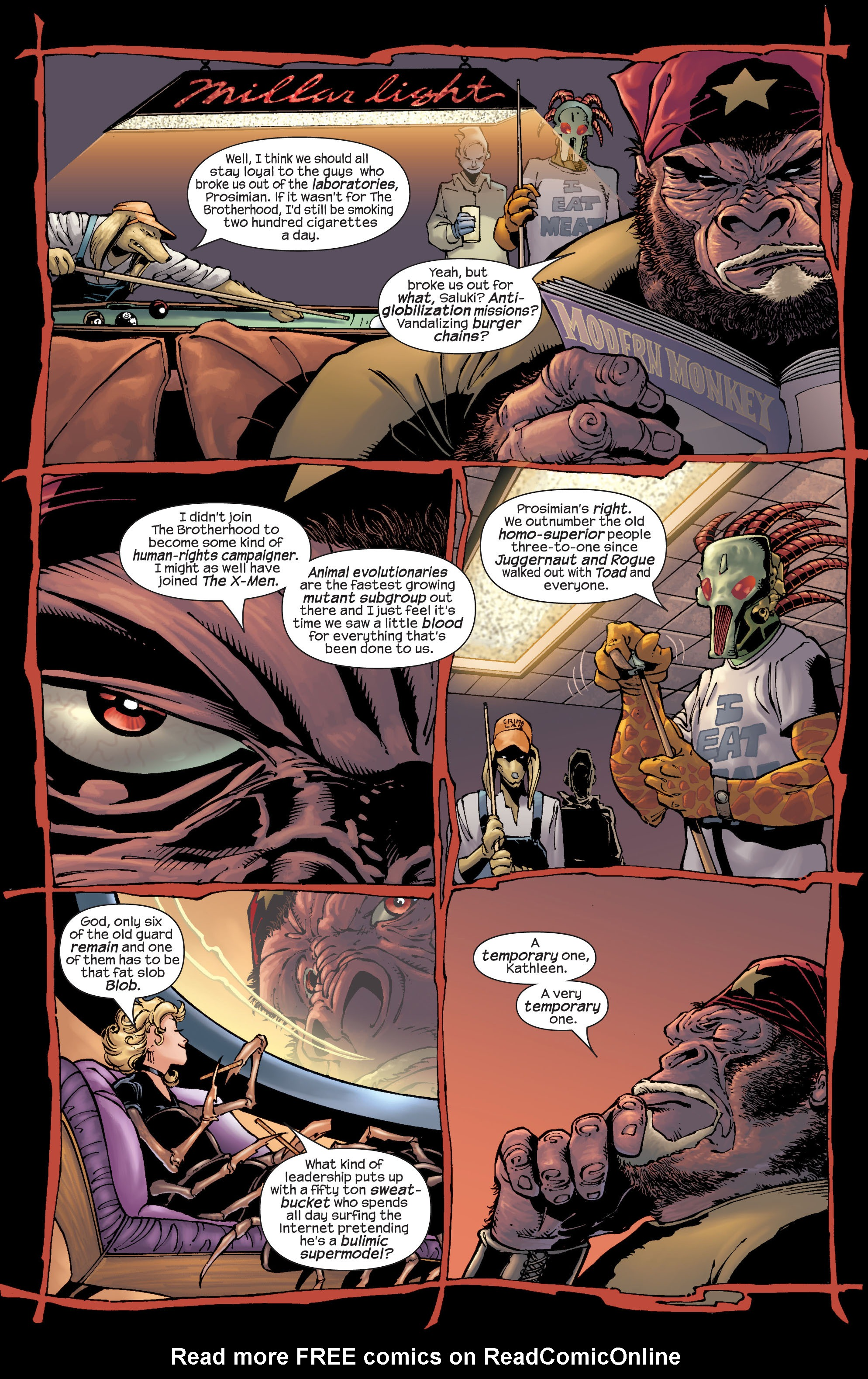 Read online Ultimate X-Men comic -  Issue #22 - 11