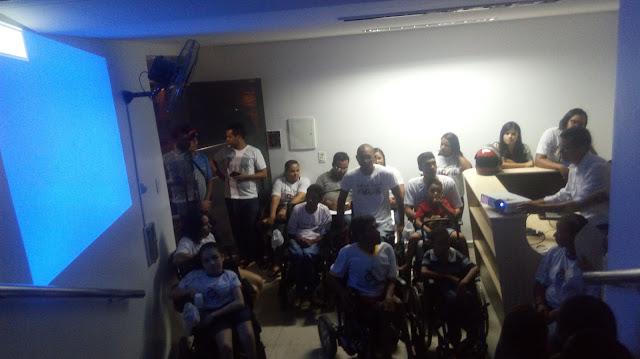 Sem acessibilidade, Membros da  ADEFIDEG, não conseguem participar da audiência pública da LDO na Câmara de Vereadores de Delmiro Gouveia