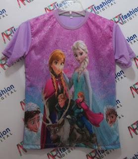 Kaos Frozen Anak