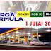 Harga Minyak Julai 2016 Petrol RON95 RON97 Dan Diesel