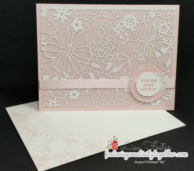Specialty Designer Series Paper, Laser Cut Detailed, Oh So Eclectic, Stampin Up
