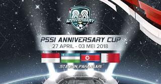 Jadwal PSSI Anniversary Cup 2018 - Timnas Indonesia U-23