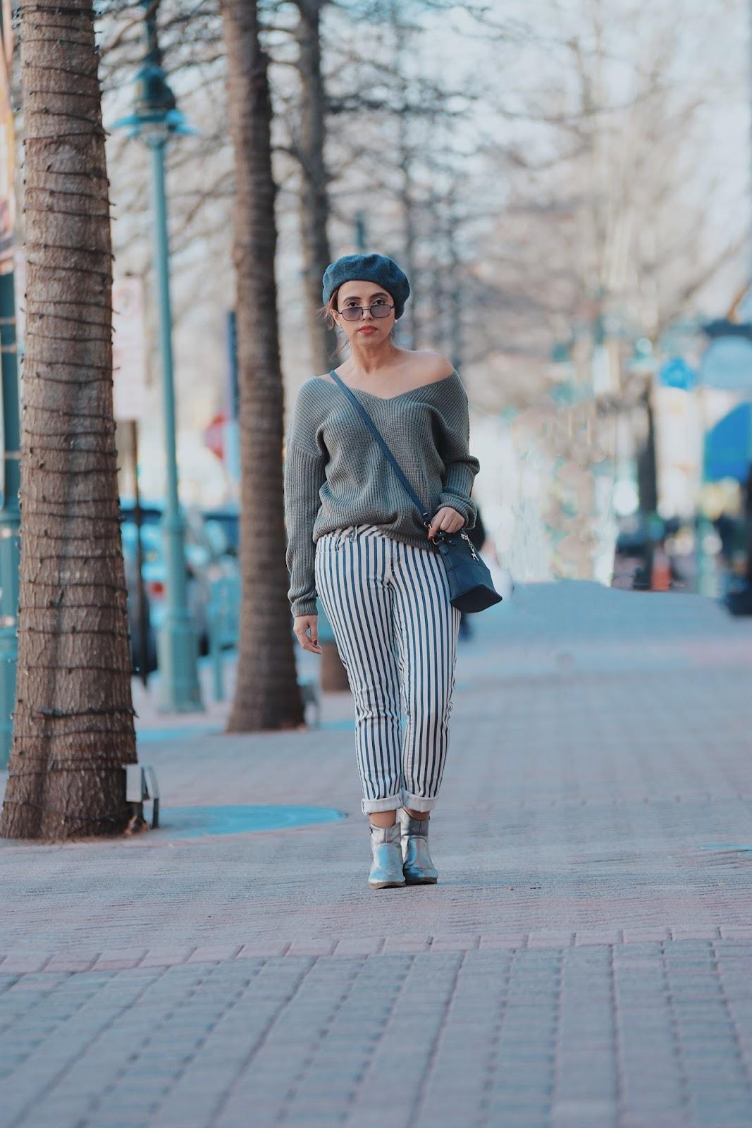 Wearing:  Jersey: ZAFUL  Beret: Choies-  Pants: Aeropostale - Boots: Charlotte Ruse