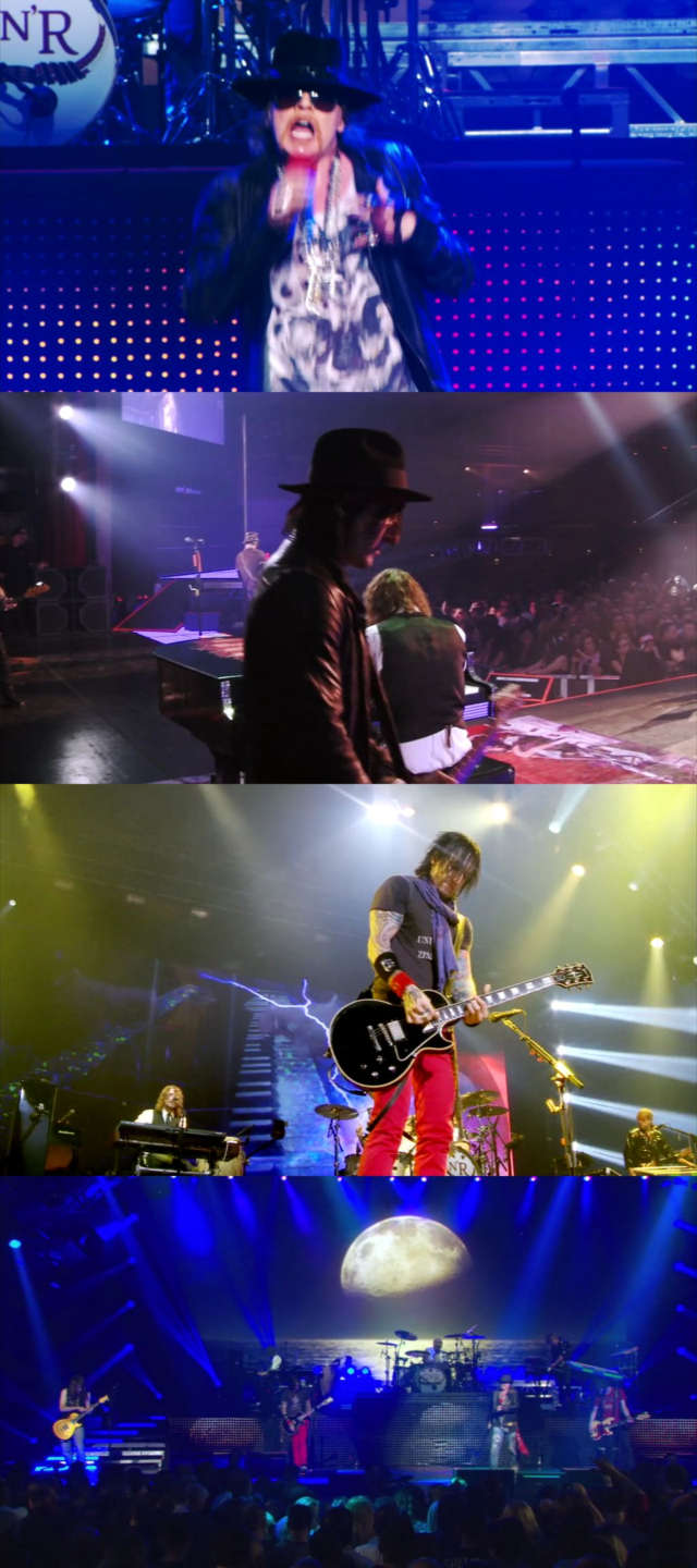 Guns N' Roses Appetite For Democracy At Las Vegas (2012) HD 720p