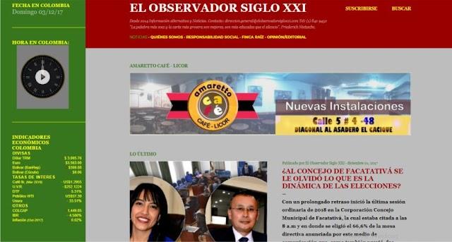 El Observador Siglo XXI evoluciona su página web