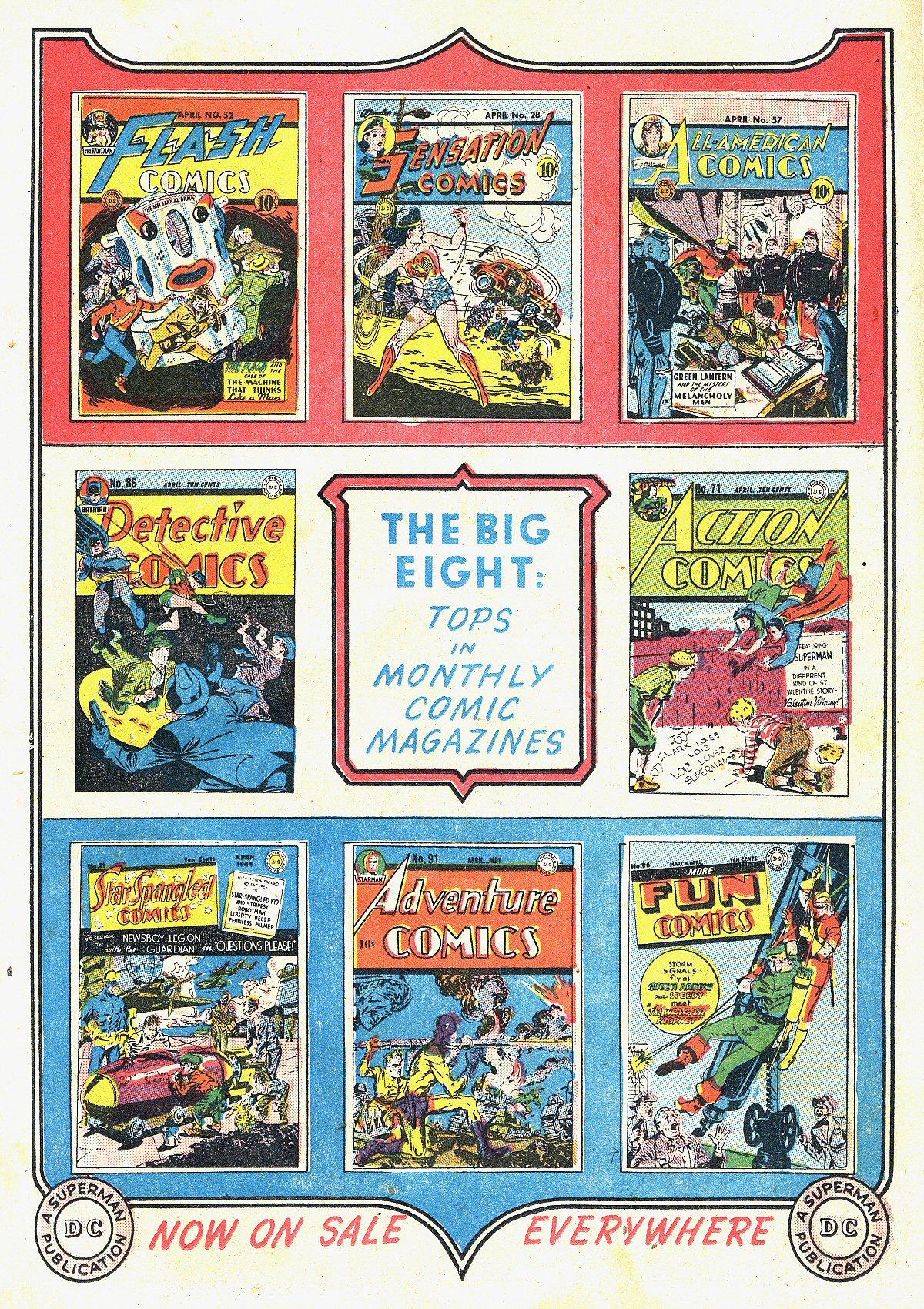 Read online All-Star Comics comic -  Issue #20 - 18