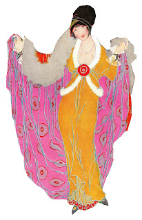 fashion illustration coat image women artwork