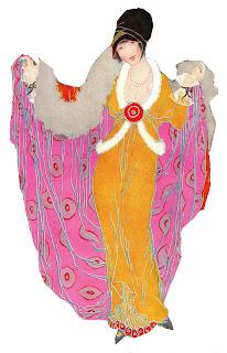 fashion illustration coat image women artwork