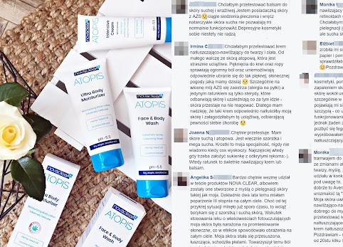 Kosmetyki Nova Clear Atopis – wyniki testu czytelników.