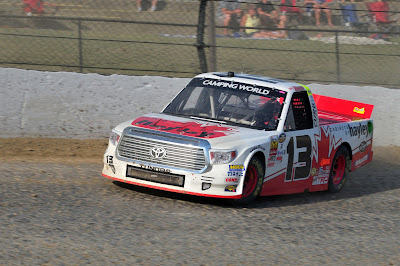 #NASCAR Camping World Truck Series Driver Cameron Hayley Productive