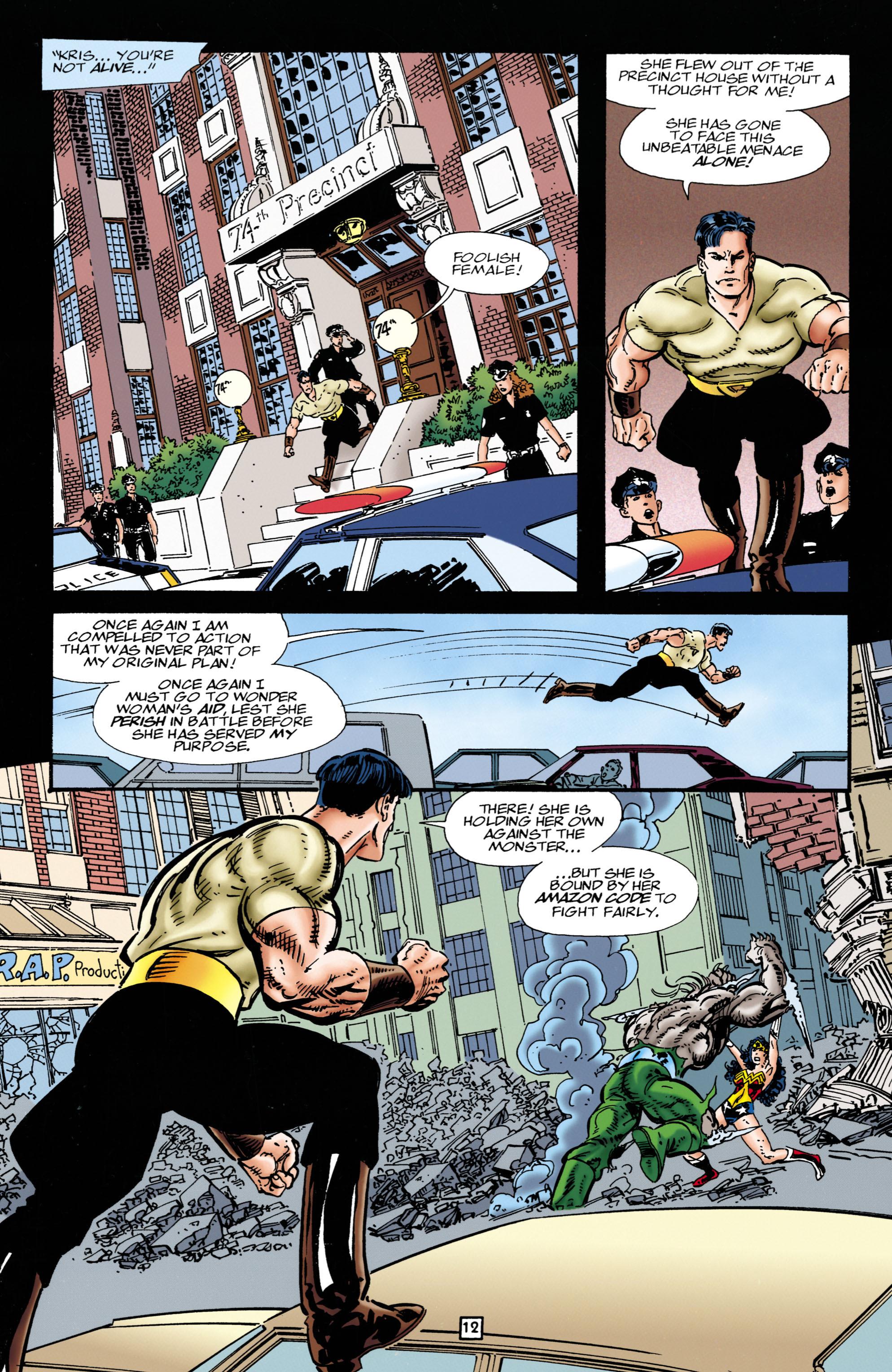Read online Wonder Woman (1987) comic -  Issue #111 - 12