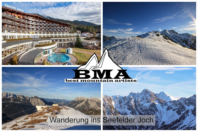 Wanderung ins Seefelder Joch mit BMA Best Mountain Artists - Dorint Alpin Resort Seefeld in Tirol