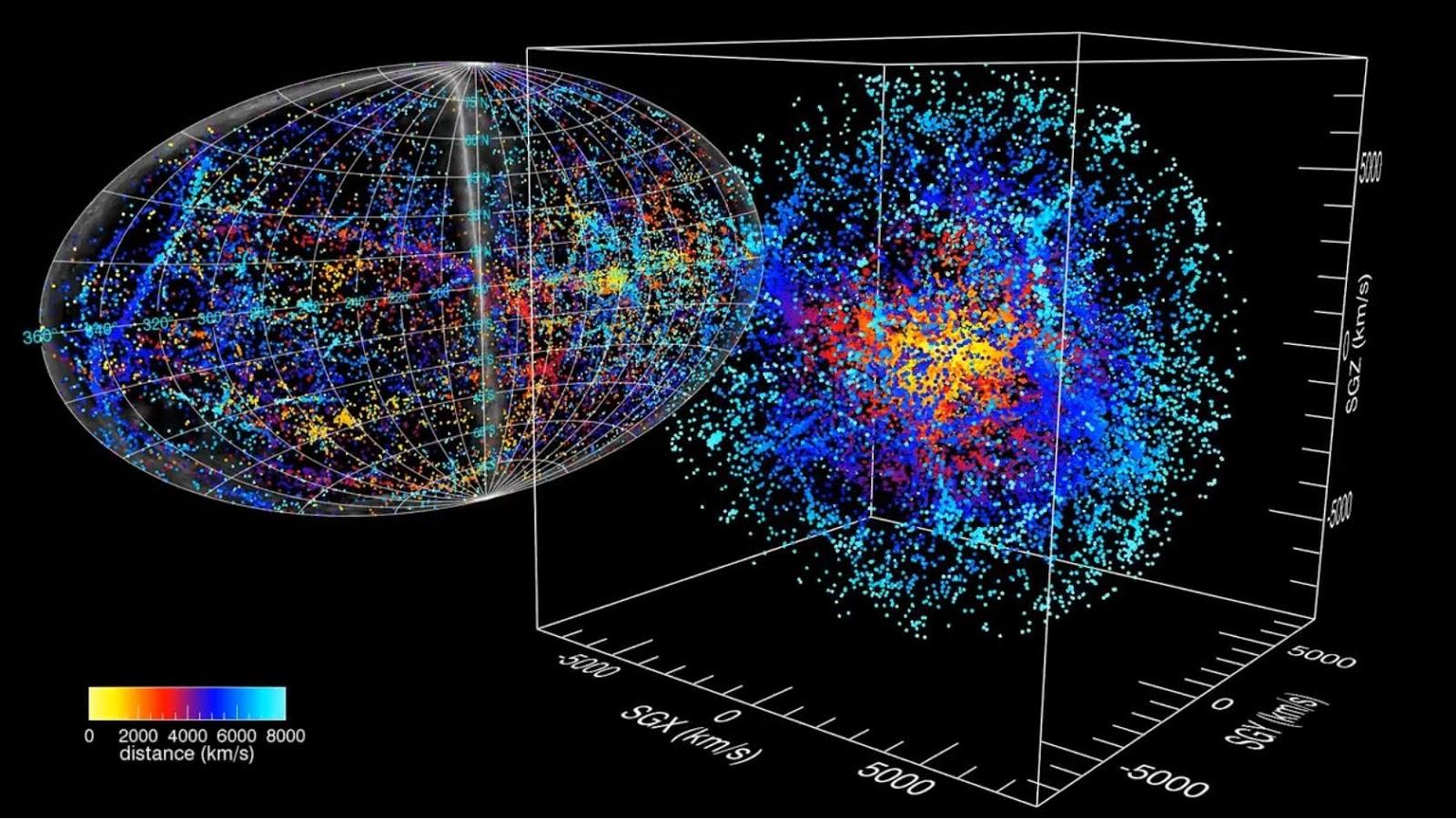 Galaxy Trek Map 3d Star