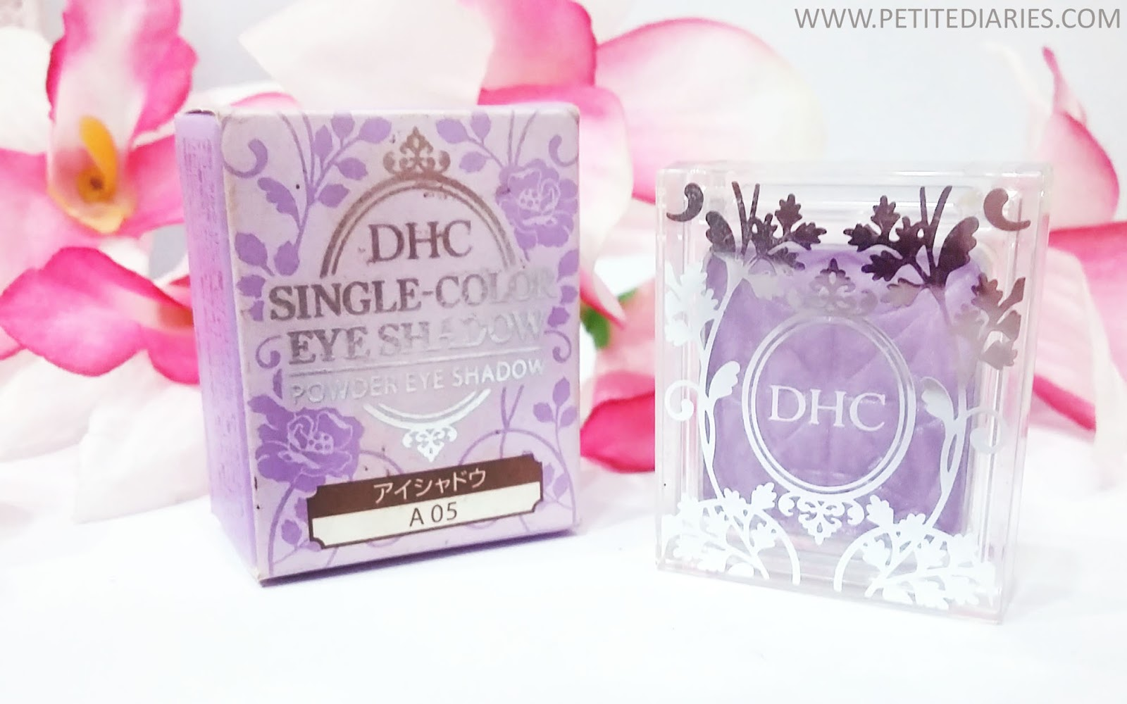 dhc single color eyeshadow purple japan