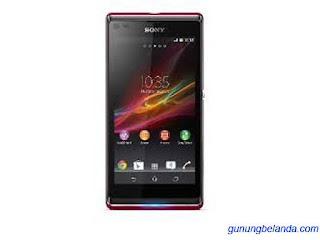 Cara Flashing Sony Xperia L C2104