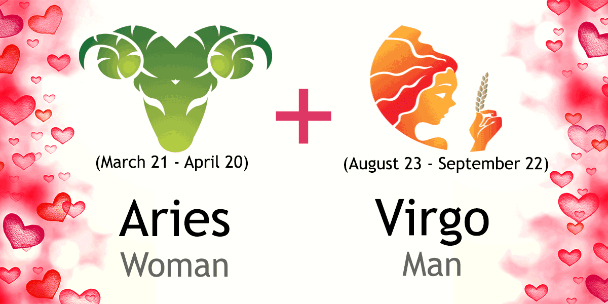 Virgo man and aries woman love