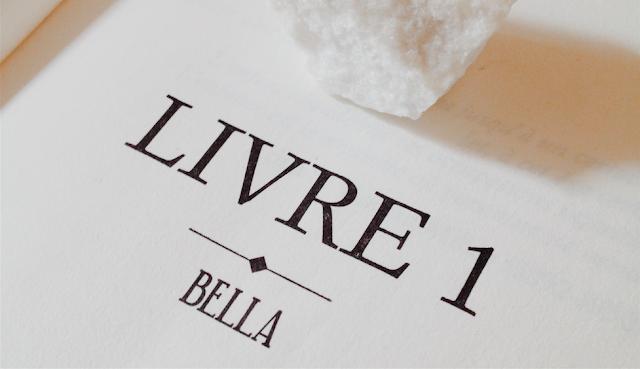 Livre 1 Bella